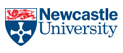 Newcastle University crest and website link